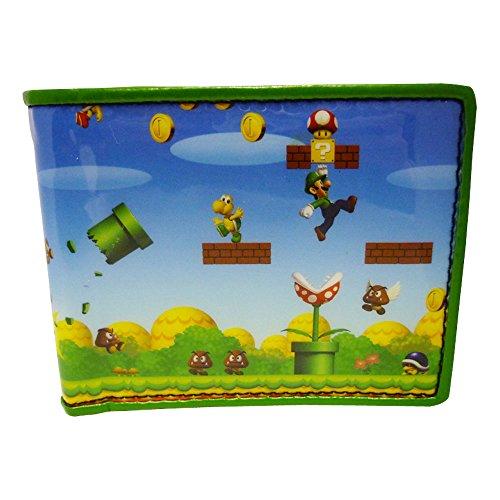 Nintendo Super Mario Bros. Portamonete BIO-MW134217NTN Multicolore