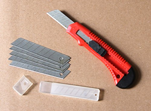 Ultrasteel® Set Of 1 Utility Knife With 6 Snap-Off Blades