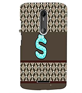 PrintDhaba GRANDbet S D-3399 Back Case Cover for MOTOROLA MOTO X3 (Multi-Coloured)