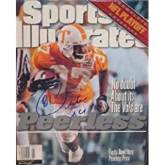 Buy Peerless Price autographed Sports Illustrated Magazine (Tennessee) by Autograph Warehouse