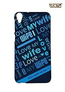 VDESI Designer Matte Back Cover For HTC Desire 820-21540063