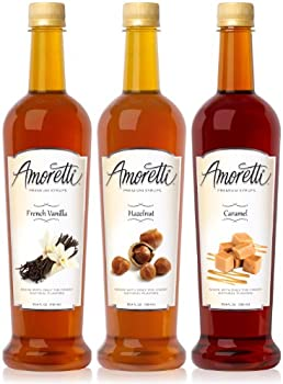 3-Pack Amoretti Classic Syrups