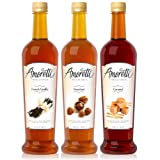 Amoretti Premium Syrups Classic 3 Pack
