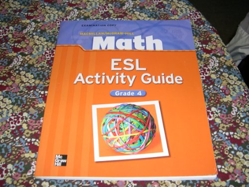 Math ESL Activity Guide - Grade 4 PDF