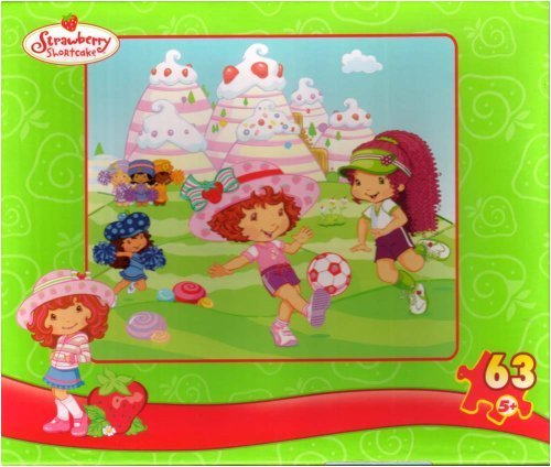Strawberry Shortcake 63pc. Puzzle-Soccer Match