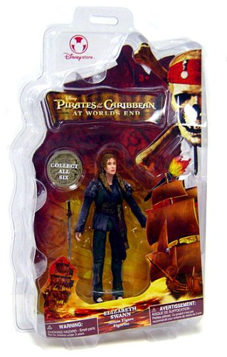 Picture of Disney Pirates of the Caribbean At World's End Disney Exclusive Action Figure Elizabeth Swann (B000QU3Z24) (Disney Action Figures)