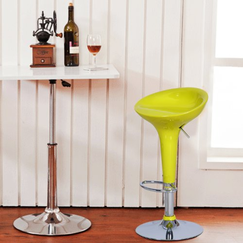 Joveco Stylish Colorful Swivel Adjustable Bar Stools