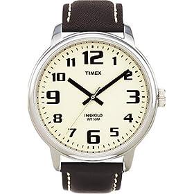 【クリックで詳細表示】[タイメックス]TIMEX 腕時計 ビッグイージーリーダー クリーム T28201 メンズ [正規輸入品]: 腕時計通販