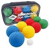 Schildkröt Funsports Boccia Set 4 x 2 Kunststoffkugeln+1 Zielkugel