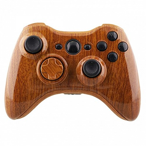 mod-freakz-shell-button-kit-hydro-dipped-collection-wood-grain-not-a-controller-for-xbox-360-control