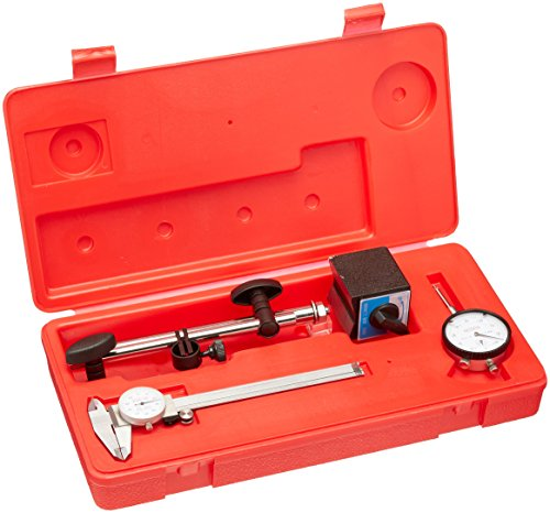 Grizzly H3022 Magnetic Base Dial Indicator Caliper Combo Pack (Dial Caliper Grizzly compare prices)