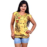 Flower Girl Printed T-Shirts
