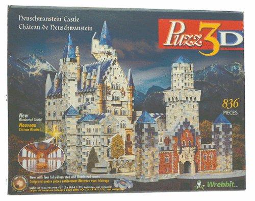 Puzz 3D - Neuschwanstein Castle Puzzle (3d Puzzles Advanced compare prices)
