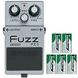 BOSS コンパクトエフェクター 個性的なビンテージ・ファズ3モデルのサウンドをCOSMによりリアルに再現。 +9Vマンガン電池5個付き FZ-5(Fuzz)
