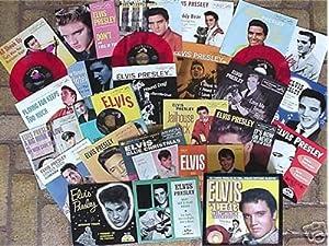 Elvis Presley #1 Hit Singles Collection Vol 1 RED Vinyl 45 EP 2001 Box Set