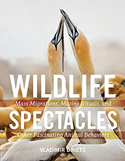 Book Cover: Wildlife Spectacles: Mass Migrations, Mating Rituals, and Other Fascinating Animal Behaviors