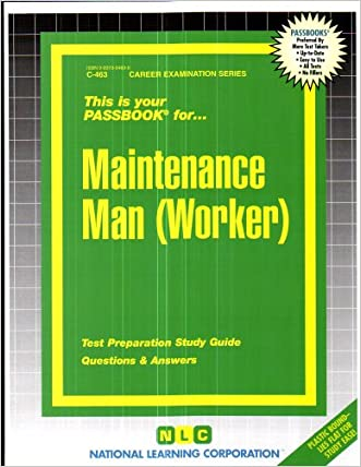 Maintenance Man (Worker)(Passbooks)