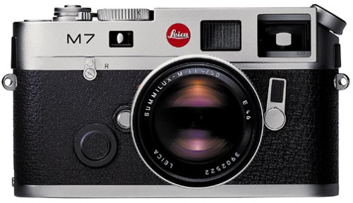 Leica M7 Rangefinder 35mm Camera w/ .72x Viewfinder, Silver (Body Only)