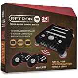 Hyperkin RetroN 3 Video Game System for NES/SNES/GENESIS Console 2.4Ghz Edition - Onyx Black
