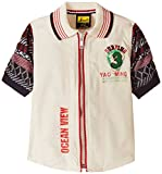 Seals Boys' Shirt (D1842_Off White_10 - 11 years)