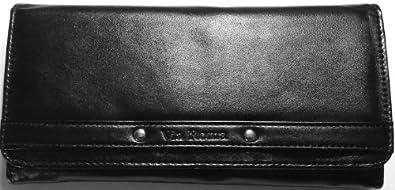 RFID Blocking women's Wallet (type I: 2-fold, black)