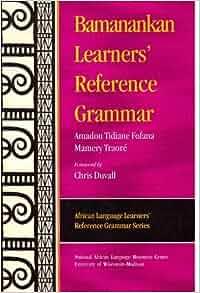 Learn bamanankan language