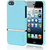 Latest Invellop Light Blue Slider Case Cover for Iphone 5 5g The New Iphone