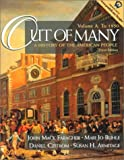 Out of Many: A History of the American People, Volume A: To 1850 (3rd Edition) (0130100315) by Faragher, John Mack