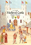 A. Smith Medieval Castle Sticker Book (Dover Sticker Books)