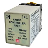 uxcell コントローラユニット 電源コントローラユニット グレー ブラック プラスチック 金属 DC24V 100mA