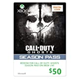 Xbox $50 Gift Card for Call of Duty Ghosts Season Pass [Online Game Code]