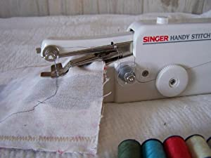 Singer Handy Stitch Hand Held Portable Sewing Machine As Seen On Tv from Singer