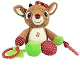 おもちゃ Rudolph the Red-Nosed Reindeer - Developmental Activity Toy - Plays Fun Music - Teaches Holiday Joy - 100% BPA PVC Lead and Phthalate Free - Asthma Friendly - Made From Safe Quality Materials [並行輸入品]