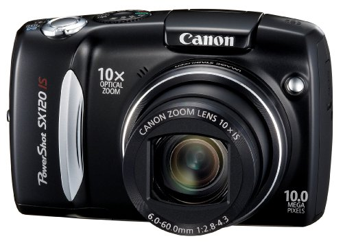 Canon PowerShot SX120 IS is one of the Best Cheap Canon Digital Cameras for Photos of Children or Pets