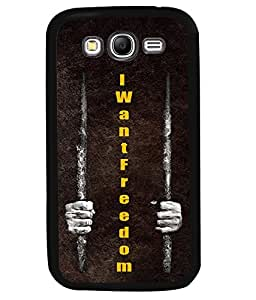 PrintVisa Metal Printed Quotes Designer Back Case Cover for Samsung Galaxy Grand 2 G7102-D4987