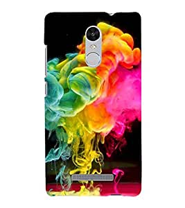 Colour Spurt 3D Hard Polycarbonate Designer Back Case Cover for Xiaomi Redmi Note 3 :: Xiaomi Redmi Note 3 Pro :: Xiaomi Redmi Note 3 MediaTek