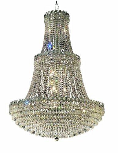 "Agathe 17-Light 30""D Crystal Chandelier 1617G30C-Ss"