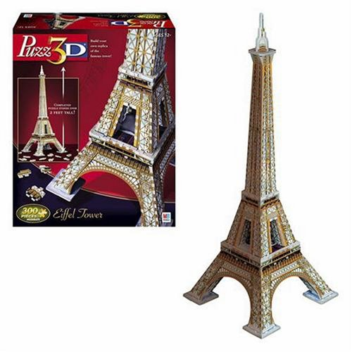 Cheap Hasbro Puzzle 3D Eiffel Tower (B0007Q1IQ2)