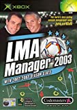 Cheapest LMA Manager 2003 on Xbox
