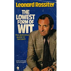 The Lowest Form of Wit Leonard Rossiter and Honeysett