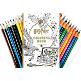 Harry Potter Coloring Book/Twiggler (Book & colored Pens/Pencils)