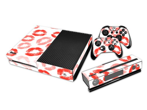 xbox-one-skin-sticker-pour-la-console-les-2-controleurs-la-camera-kinect-20-kiss