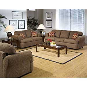 Serta upholstery spice fabric sofa loveseat living room set Serta upholstery living room collection