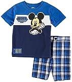 Disney Mickey Baby Boys Plaid Shorts Set