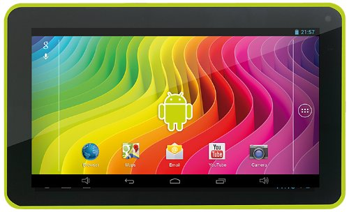 Easypix SmartPad EP772 NEO Lime 17,7 cm (7 Zoll) Tablet-PC (Rockchip RK3168 Cortex A9, DualCore, 1,2GHz, 1GB RAM, 8GB HDD, SGX 540 GPU, Android Touchscreen OS) grün