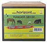 Horizont Dry Battery, Saline, 9V, 130 Ah, (12.5Cm) Ranger Sb