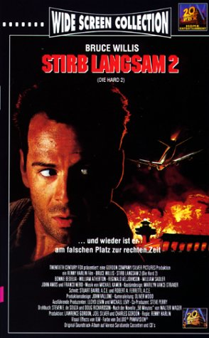 Stirb langsam 2 [VHS]