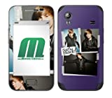 MusicSkins Justin Bieber Cut And Paste Leather Skin for Samsung Galaxy Ace (GT-S5830)