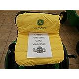 """John Deere Original 11"""" Riding Mower Seat Cover #LP22704"""