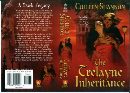 Image of The Trelayne Inheritance (Shelley Holmes, werewolf detective Book 2)